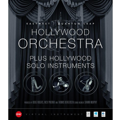 EastWest Hollywood Orchestra & Solo Instruments Virtual Instrument Downloadable Software & Plug-in - Gold
