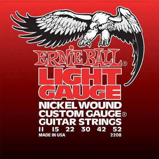 Ernie Ball 2208 Light Nickel Wound Electric Guitar Strings