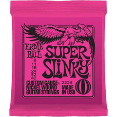 Ernie Ball 2223 Super Slinky Custom Gauge Electric Guitar Strings