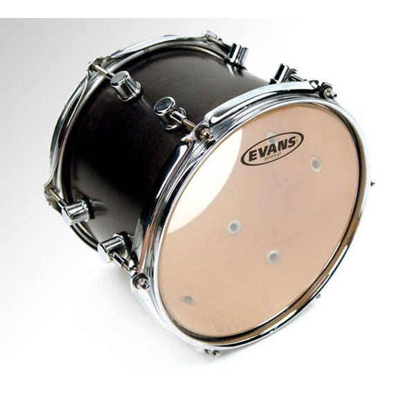 "Evans Uno G1 Clear 13"" Resonant Head UTT13G1"