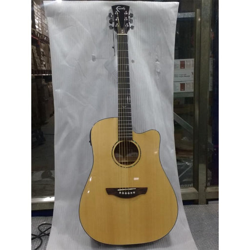 Faith FASCE Electro-Acoustic Guitar - Saturn Apollo Series, Dreadnought Gloss - Open Box B Stock