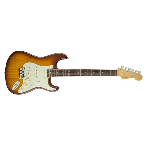 Fender American Elite Stratocaster Electric Guitar - Tobacco Sunburst