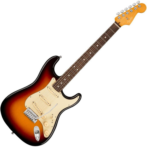Fender American Ultra Stratocaster Electric Guitar- Rosewood Fret board- Ultraburst