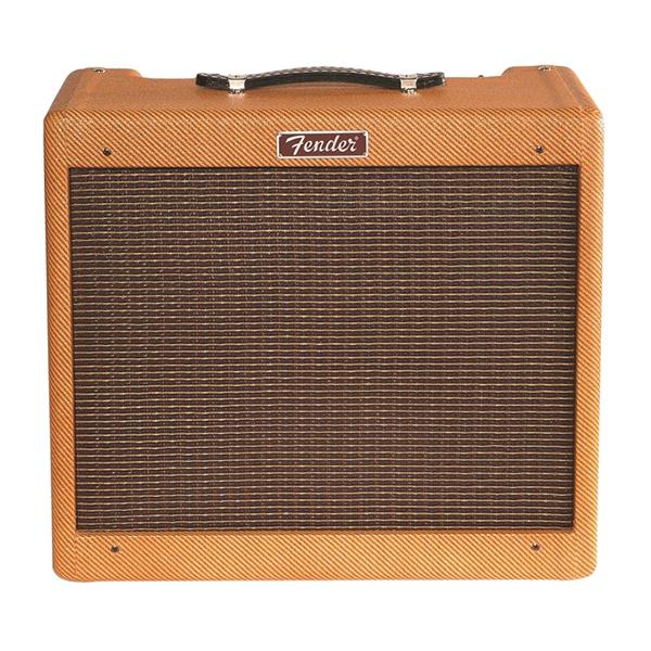 Fender Blues Junior Lacquered Tweed 15 Watt Combo Tube Guitar Amplifier
