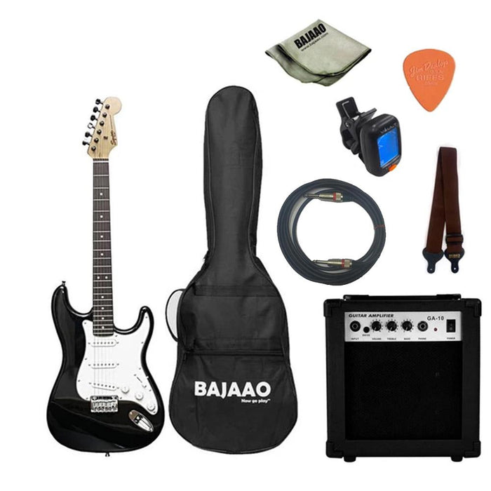 Fender Squier MM Stratocaster Electric Guitar with Gigbag, Picks, Strap and Polishing Cloth