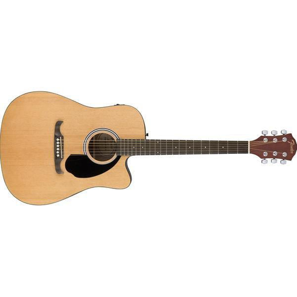 Fender FA-125CE Dreadnought Electro Acoustic Guitar - Natural - Open Box