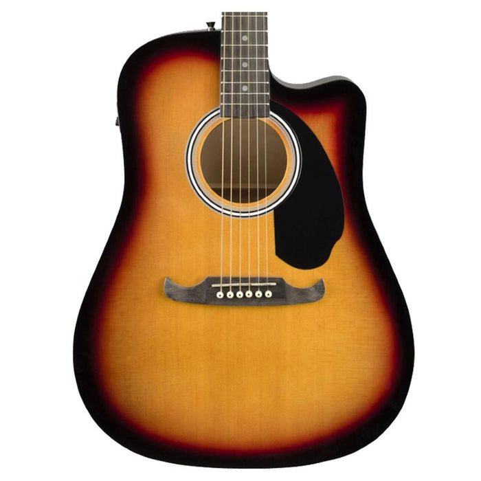 Fender FA-125CE Electro Acoustic Guitar-SB -Body