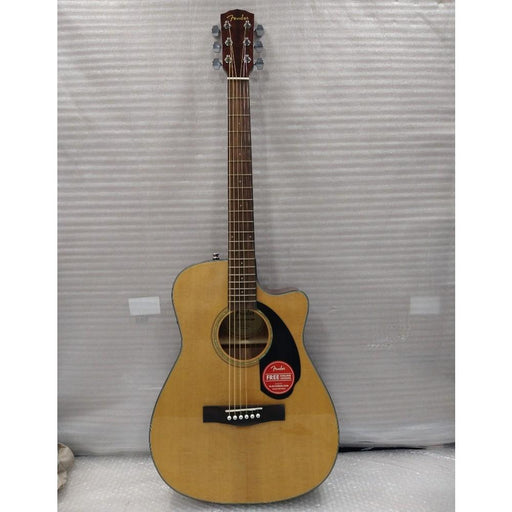Fender CC-60SCE Electro-Acoustic Guitar - Natural - Open Box B Stock