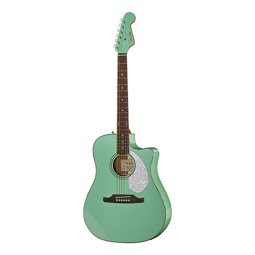 Fender Sonoran SCE Dreadnought Electro Acoustic Guitar - Surf Green