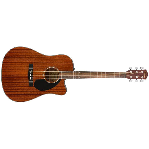 Fender CD-60SCE Dreadnought All Mahogany Electro-Acoustic Guitar - Open Box