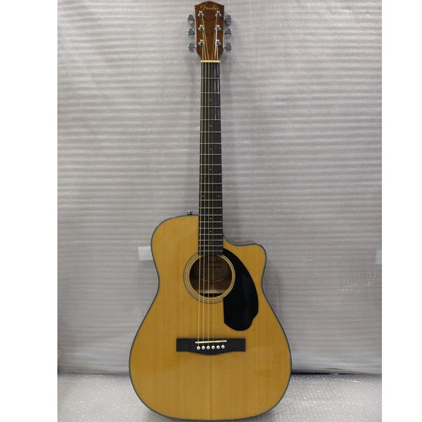 Fender CC-60SCE Concert Electro-Acoustic Guitar - Walnut Fretboard - Open Box B Stock