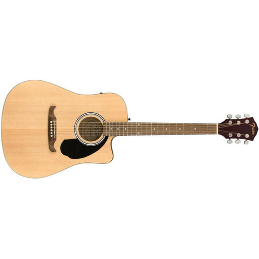 Fender FA-125CE Dreadnought Acoustic Guitar-Natural