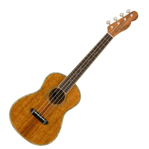 Fender Montecito Tenor Ukulele With Bag- Walnut Fretboard- Natural