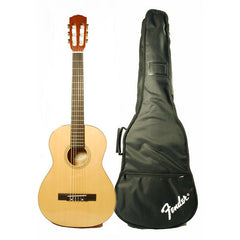 Fender ESC-105 Full-Size Classical Guitar, Rosewood Fretboard, Gig Bag - Natural