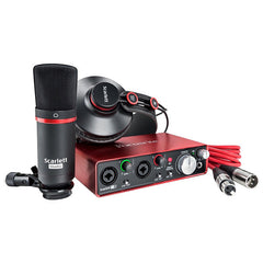 Focusrite Scarlett Studio Recording Audio Interface Package With Pro Tools Lite - 2nd Gen