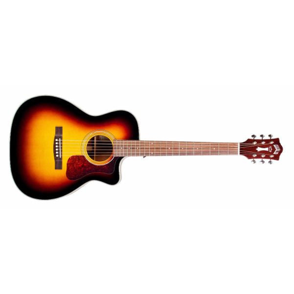 Westerly Collection OM-140CE Orchestra Acoustic-Electric Guitar