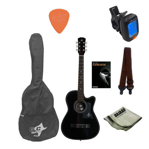 GC 38C Acoustic Guitar Starter Pack With E-Book
