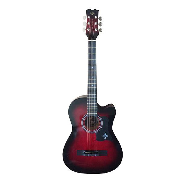 4f8263cf14d COM - Buy GC 38C Acoustic Guitar with Truss Rod and Bag Online India,  Musical Instruments Shopping