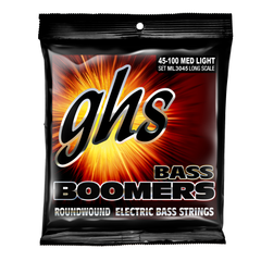 GHS ML3045 Bass Boomers Electric Bass Guitar Strings - Medium Light
