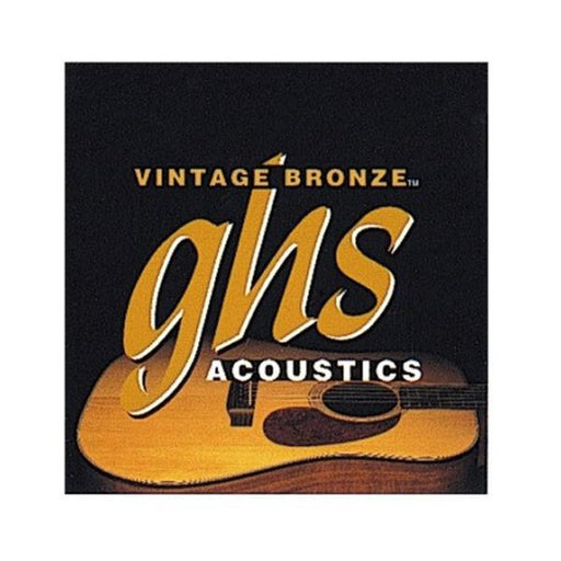 GHS VN-XL Vintage Bronze Extra Light Acoustic Guitar Strings