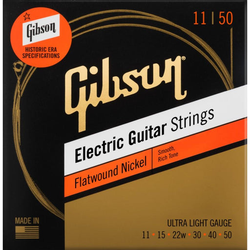 Gibson Flatwound Electric Guitar Strings