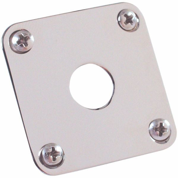 Gibson PRJP-040 Les Paul Output Jack Plate, Nickel