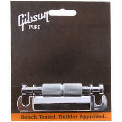 Gibson Accessories Stop Bar Tailpiece w/Studs & Inserts - Chrome - Garage Sale