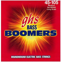 GHS M3045 Bass Boomers Electric Bass Guitar Strings - Medium