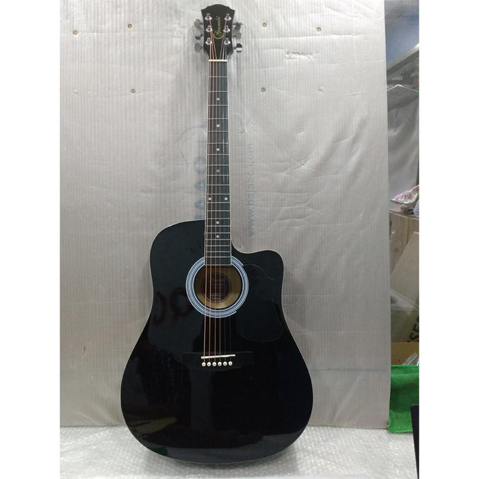 Granada PRLD-14C Acoustic Guitar - Black - Open Box B Stock