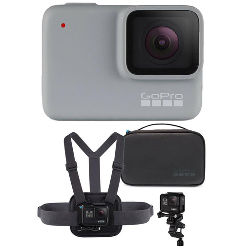 GoPro HERO7 White 4K Action Camera with Sports Performance Combo Kit