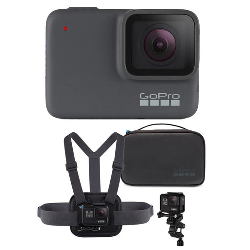 GoPro HERO7 Silver Action Camera with Sports Performance Combo Kit