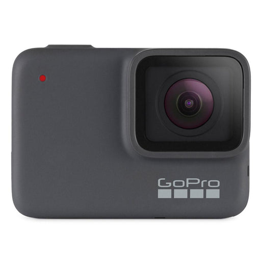 GoPro HERO7 Silver 10MP Rugged Waterproof Stabilized 4K Action Camera with 2 Year Warranty