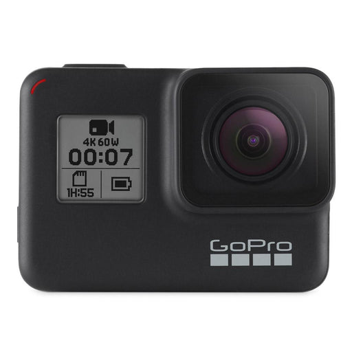 GoPro HERO7 Black 12MP Rugged Waterproof HyperSmooth 4K Action Camera with 2 Year Warranty