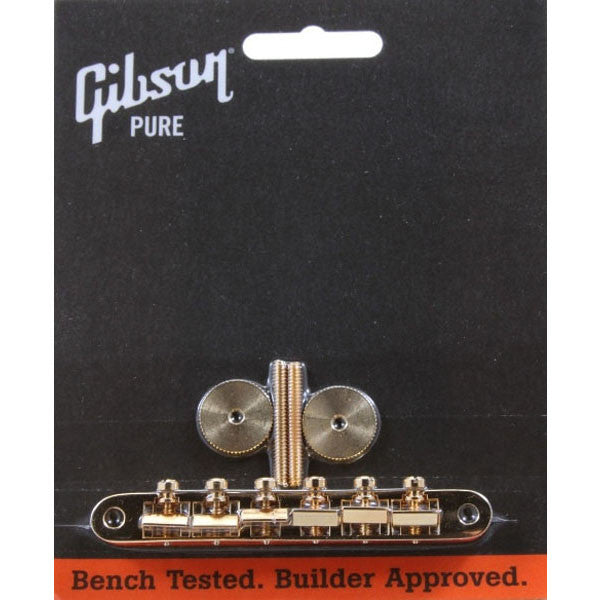 Gibson Accessories ABR-1 Tune-O-Matic Bridge w/Full Assembly (Gold)