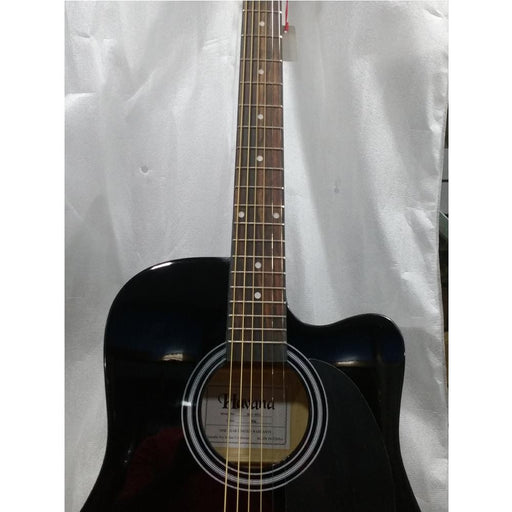 "Havana 41"" Cutaway Acoustic Guitar - Black - Open Box B Stock"