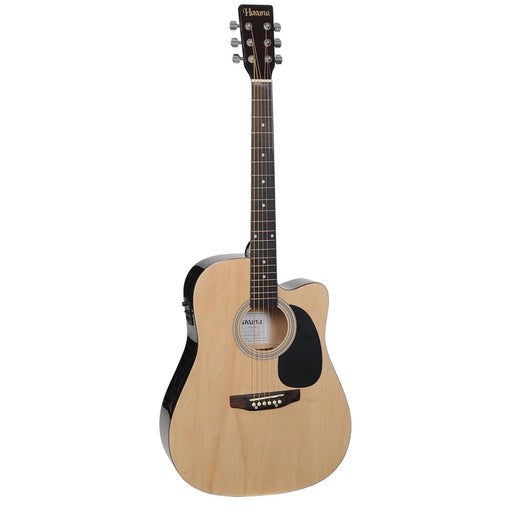 Havana 41-Inch Cutaway Electro Acoustic Guitar with 5 Band EQ & GT-3 Tuner