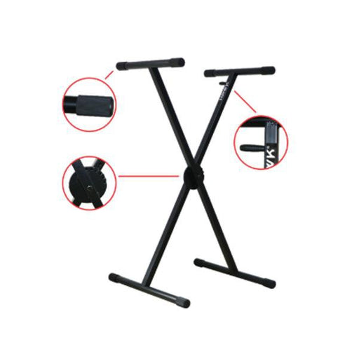 Hawk HX-003 Single X-Braced Keyboard Stand
