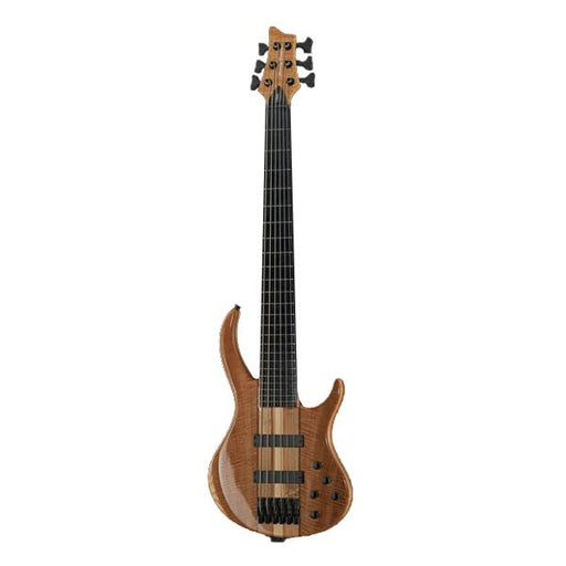 Harley Benton BZ-6000 Deluxe Series 6 String Bass Guitar - Natural