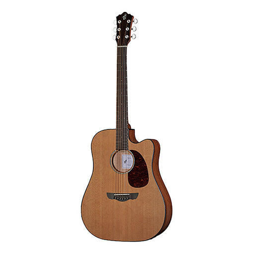 Harley Benton CLD-30SCM-CE Dreadnought Cutaway Electro Acoustic Guitar - Natural