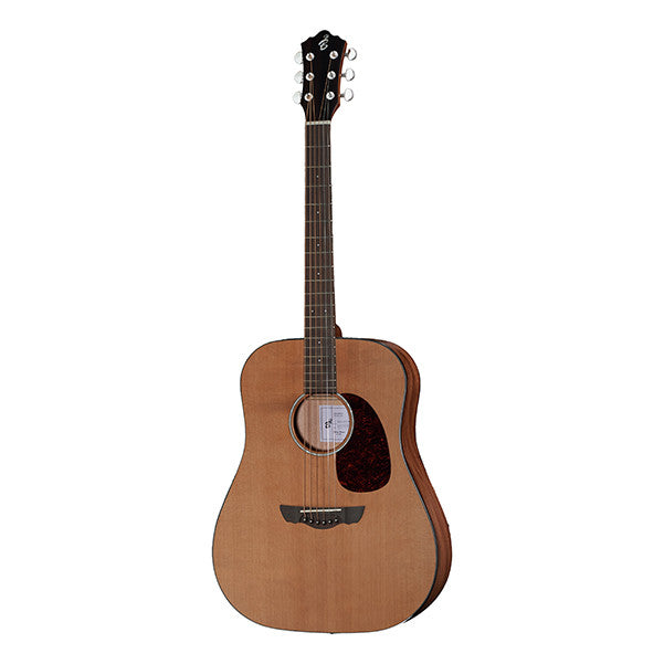 Harley Benton CLD-30SCM SolidWood Dreadnought Acoustic Guitar - Natural