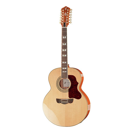 Harley Benton Custom Line CLJ-412E Dreadnought Electro Acoustic Guitar - Natural High Gloss