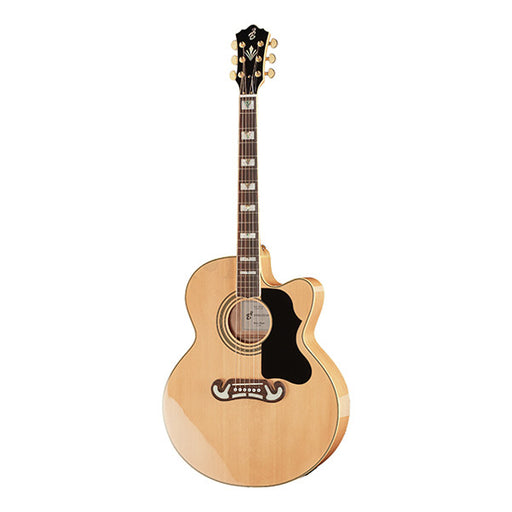 Harley Benton HB Custom Line King-CE Cutaway Electro Acoustic Guitar - Natural High Gloss