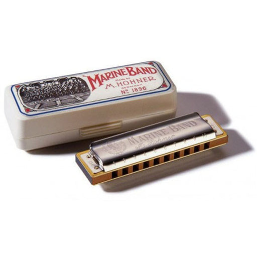 Hohner M1896106 Marine Band Classic Harmonica In A