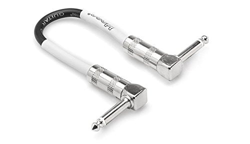 Hosa CPE-112 Right-Angle to Right-Angle Guitar Patch Cable