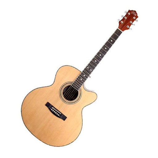 Trinity Highway 42 Jumbo-Acoustic Cutaway Guitar with Bag