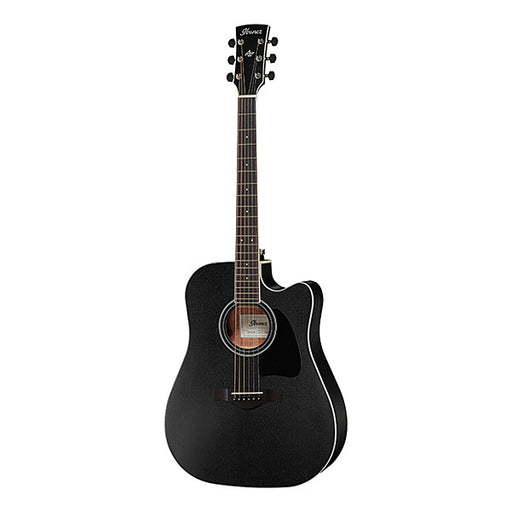 Ibanez AW84CE Artwood Dreadnought Cutaway Electro Acoustic Guitar - Weathered Black