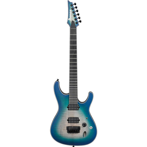 Ibanez SIX6FDFM 6-String Electric Guitar - Ebony Fretboard - Blue Space Burst