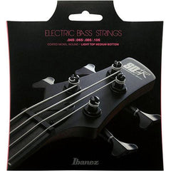 Ibanez IEBS4C Bass Guitar Strings - Light Top Medium Bottom, 45 - 105
