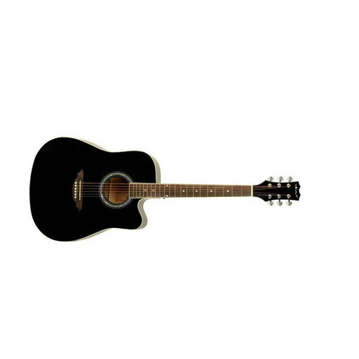 Vault ED10-BK Dreadnought Cutaway Acoustic Guitar - Black - Open Box