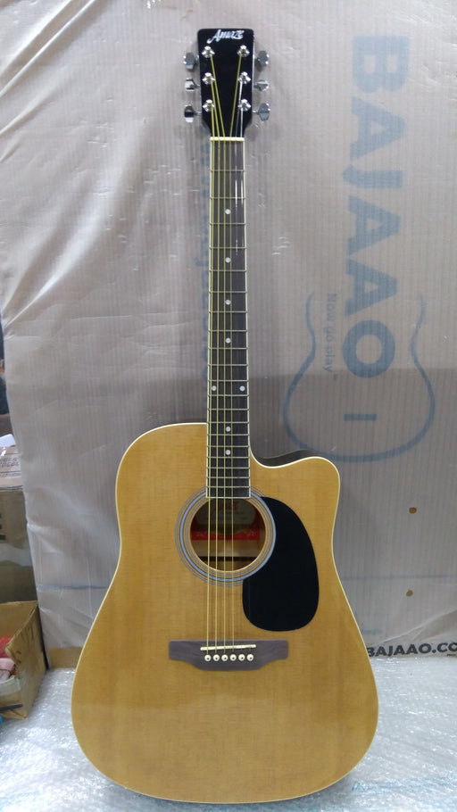Amaze AW41C-201 Electro-Acoustic Guitar - Natural - Open Box B Stock